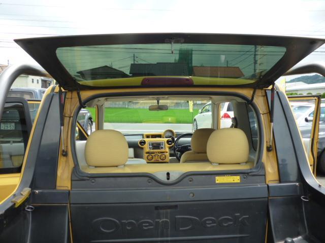トヨタ bB オープンデッキ タイミングチェーン HIDヘッドライト