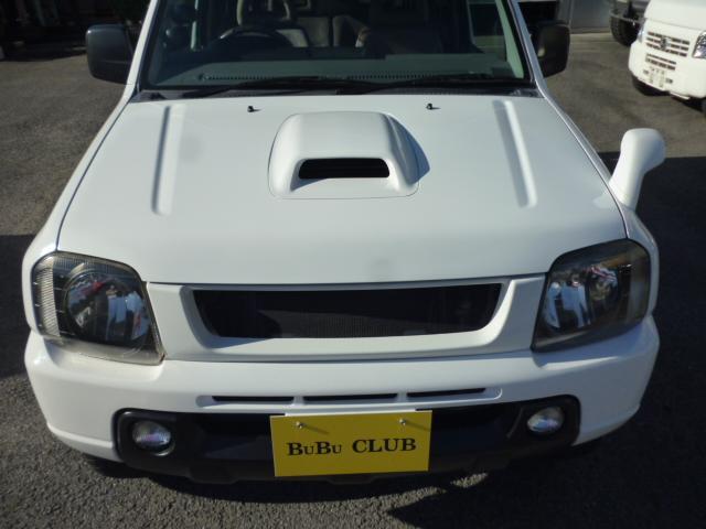 スズキ ジムニー XC 社外マフラー 追加メーター ローダウン 4WD 5MT