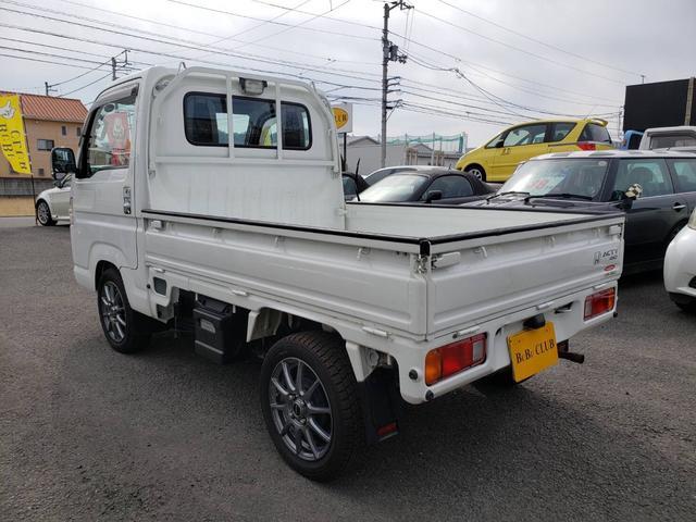 SDX ワンオーナー 4WD エアコン パワステ 5MT 社外14インチアルミホイール ドアノブフロントグリルメッキパーツ(11枚目)
