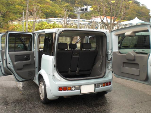 「日産」「キューブ」「ミニバン・ワンボックス」「愛媛県」の中古車11