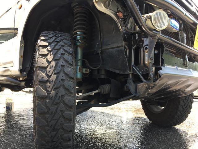 リミテッドエディションVR リフトアップ 切り替え式4WD ターボ ルーフキャリア 車検R5年2月4日(27枚目)