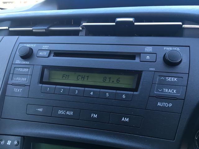 トヨタ プリウス S スマートキー ビルトインETC CDオーディオ