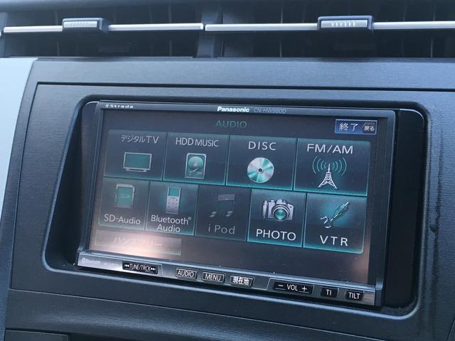 トヨタ プリウス Gツーリングセレクション フルセグTVナビ 1オーナー