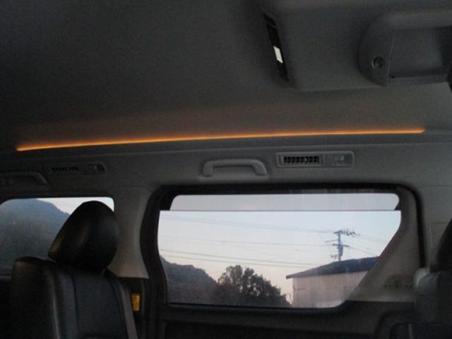 2.4Z プラチナセレクションII 純正HDDナビ TV Bluetooth 社外18インチアルミ フリップダウンモニター ETC HIDヘッドライト 革調シートカバー バックカメラ ツイータースピーカー 両側電動スライドドア(43枚目)