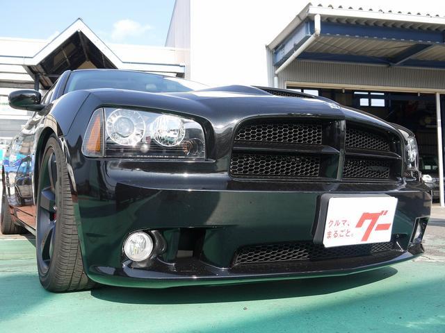 ダッジ ダッジ チャージャー SRT8 減衰力調整付車高調 ディーラー車 HDDナビ