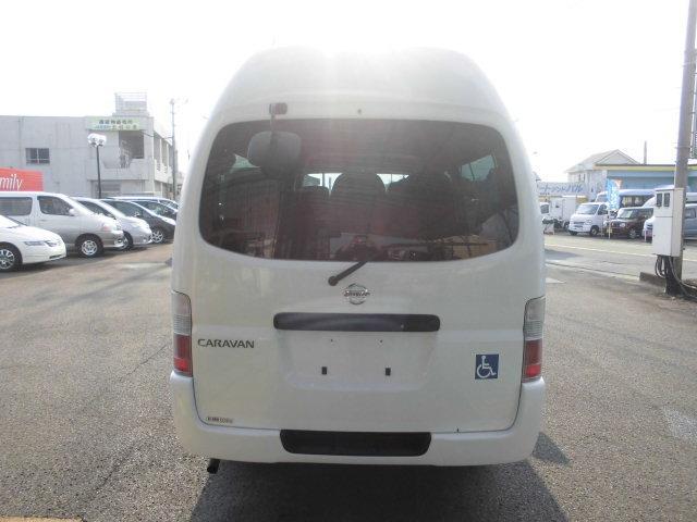 日産 キャラバン SロングDXハイルーフ 福祉車両 スイングアームリフト