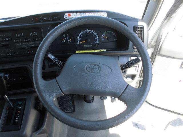 トヨタ コースター ロングEXターボ29人乗りエアサス左自動ドア冷蔵庫リクモケ