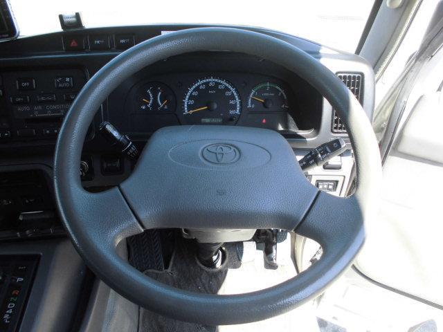 トヨタ コースター ロングEXターボリア観音エアサス左自動ドアモケリク