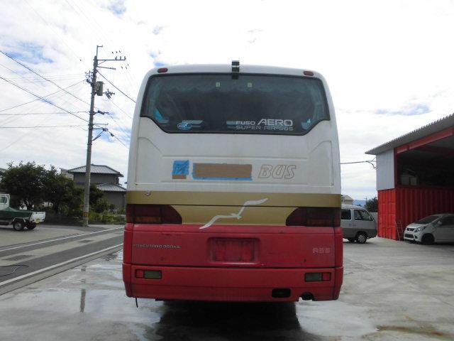 三菱ふそう 三菱ふそう 三菱バス NoxPm適合 下回り検査済み 貫通トランク