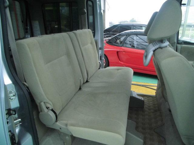 スローパーリアシート付き4人乗り車いす固定両側スライドドア福祉車両キーレス電格ミラー(8枚目)