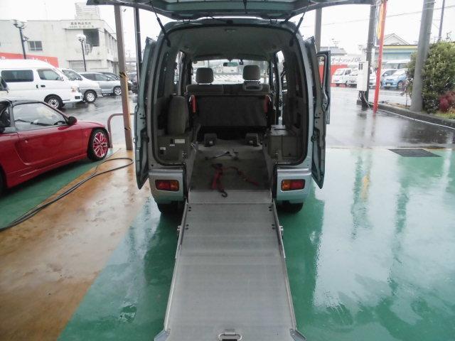 スローパーリアシート付き4人乗り車いす固定両側スライドドア福祉車両キーレス電格ミラー(10枚目)