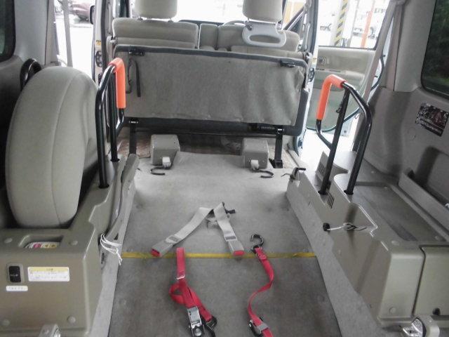 スローパーリアシート付き4人乗り車いす固定両側スライドドア福祉車両キーレス電格ミラー(13枚目)
