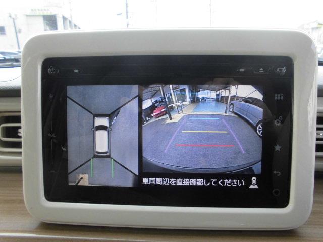 X 全方位モニター付きメモリーナビ装着車スマートキープッシュスタートETCシートヒーターアイドルストップ(19枚目)