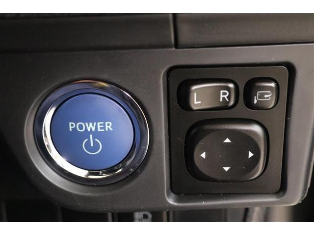 プッシュスタートシステムです。キーをバッグやポケットに入れたままでブレーキを踏んでボタンを押すだけでエンジン始動出来ます
