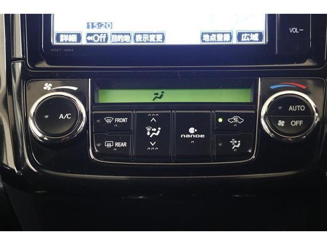 オートエアコンなので車内で一年中快適に過ごすことができます。