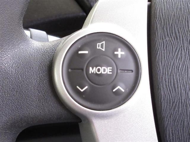 ステアリングスイッチ付きなのでオーディオの操作が手元で出来て便利