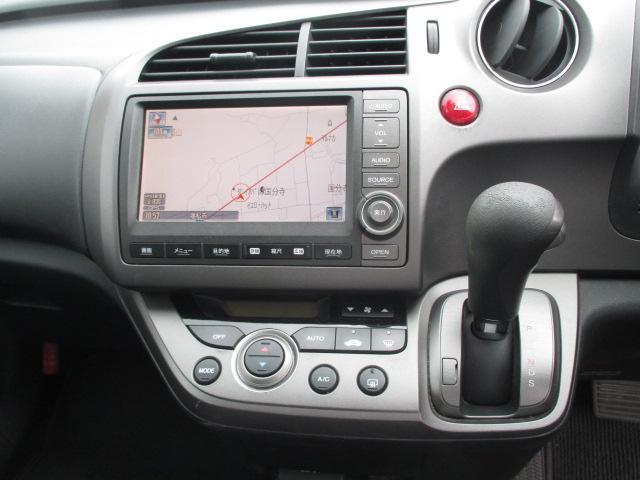 ホンダ ストリーム RSZ HDDナビ フルセグTV バックカメラ 社外マフラー
