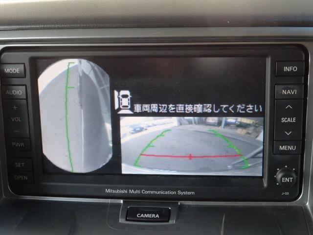 三菱 デリカD:5 G ナビパッケージ 純正HDDナビ