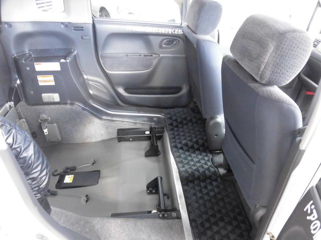 車椅子電動固定装置付き 車椅子移動車 スローパー(10枚目)