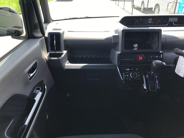 カスタムRS 両側パワスラ 運転席ロングスライドシート スマートキー プッシュスタート LEDヘッドライト ミラクルオープンドア スマアシ 純正アルミ ステアリングスイッチ オートエアコン オートライト ETC(33枚目)