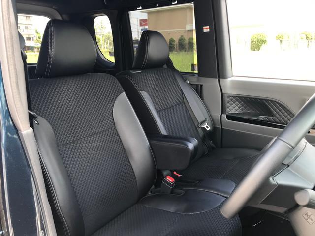 カスタムRS 両側パワスラ 運転席ロングスライドシート スマートキー プッシュスタート LEDヘッドライト ミラクルオープンドア スマアシ 純正アルミ ステアリングスイッチ オートエアコン オートライト ETC(41枚目)