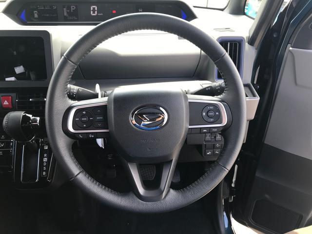 カスタムRS 両側パワスラ 運転席ロングスライドシート スマートキー プッシュスタート LEDヘッドライト ミラクルオープンドア スマアシ 純正アルミ ステアリングスイッチ オートエアコン オートライト ETC(46枚目)