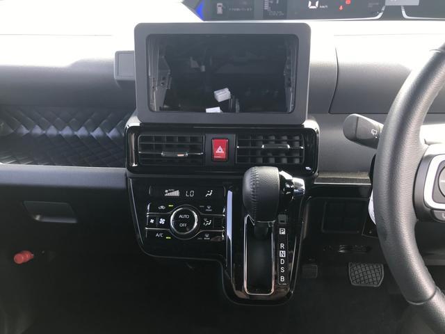 カスタムRS 両側パワスラ 運転席ロングスライドシート スマートキー プッシュスタート LEDヘッドライト ミラクルオープンドア スマアシ 純正アルミ ステアリングスイッチ オートエアコン オートライト ETC(47枚目)