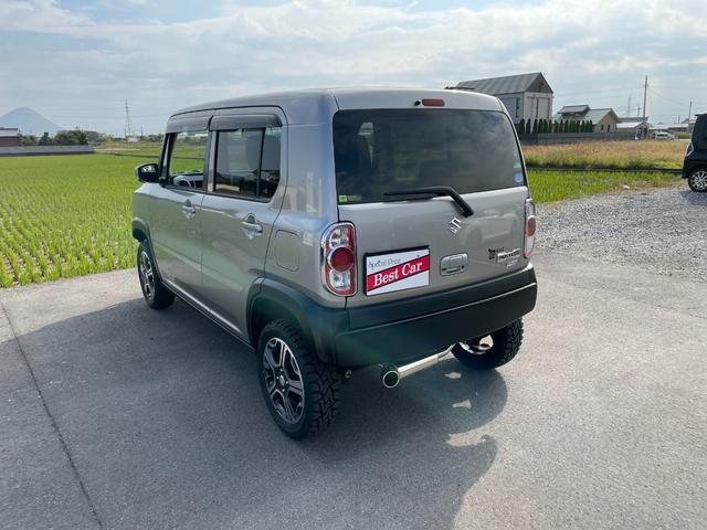 X プラスライン製 フロントバンパー リアバンパー スキッドバンパー マフラー LEDナンバーキット トーヨーオープンカントリータイヤ リフトアップKLC轟30mm レーダーブレーキサポート 社外ナビ(15枚目)