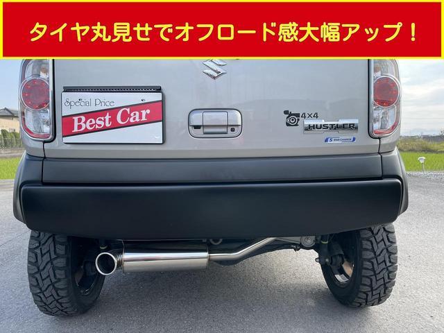 X プラスライン製 フロントバンパー リアバンパー スキッドバンパー マフラー LEDナンバーキット トーヨーオープンカントリータイヤ リフトアップKLC轟30mm レーダーブレーキサポート 社外ナビ(33枚目)
