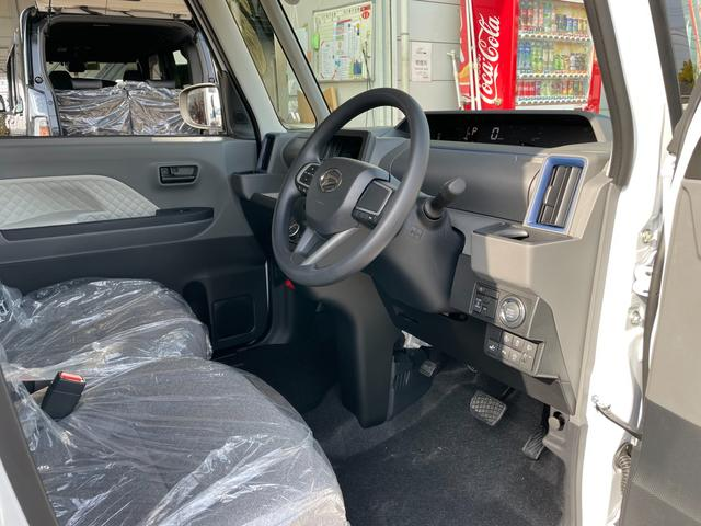 Xセレクション 運転席ロングスライドシート ミラクルオープンドア 左側パワースライドドア 前席シートヒーター スマートアシスト スマートキー プッシュスタート LEDヘッドライト オートライト オートエアコン(33枚目)