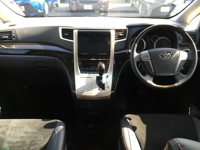 トヨタ ヴェルファイア 2.4Z ゴールデンアイズII フリップダウンモニター