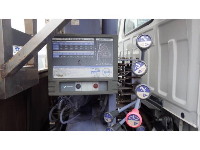 いすゞ エルフトラック ロング ユニック付 3段
