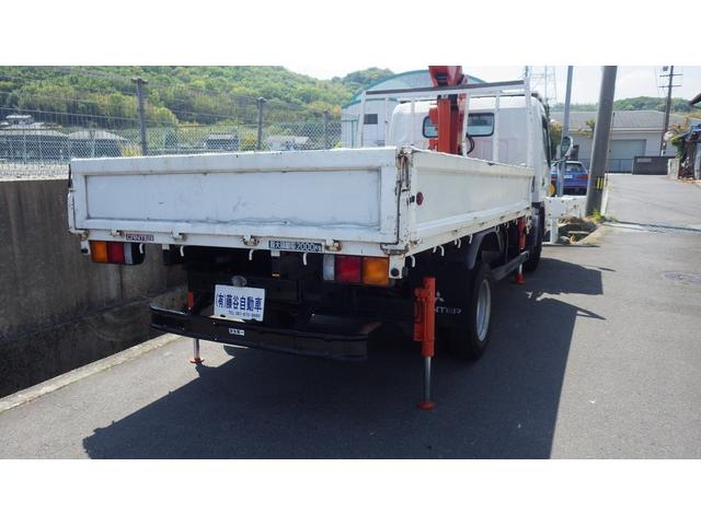 ロングSA 5段 クレーン付きトラック アウトリガー 付(8枚目)