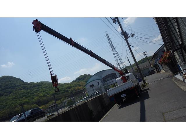 ロングSA 5段 クレーン付きトラック アウトリガー 付(9枚目)