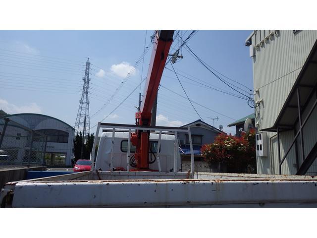 ロングSA 5段 クレーン付きトラック アウトリガー 付(11枚目)