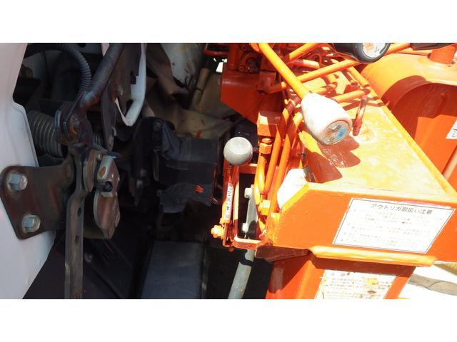 ロングSA 5段 クレーン付きトラック アウトリガー 付(18枚目)