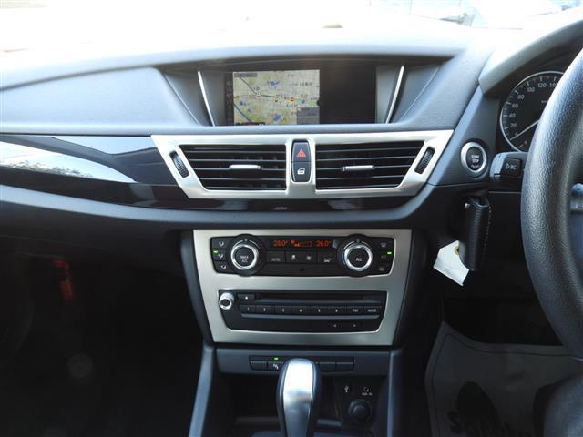 BMW BMW X1 sDrive 18i HDDナビ ローダウン 外アルミ
