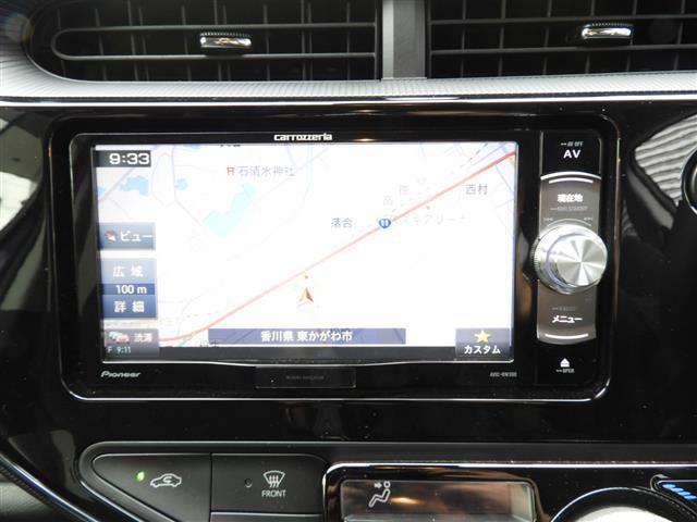 トヨタ アクア S メモリーナビTV ETC スマートキー