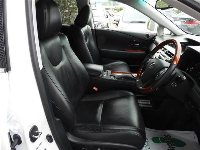 レクサス RX RX350 バージョンL 革シート HDDナビ ETC