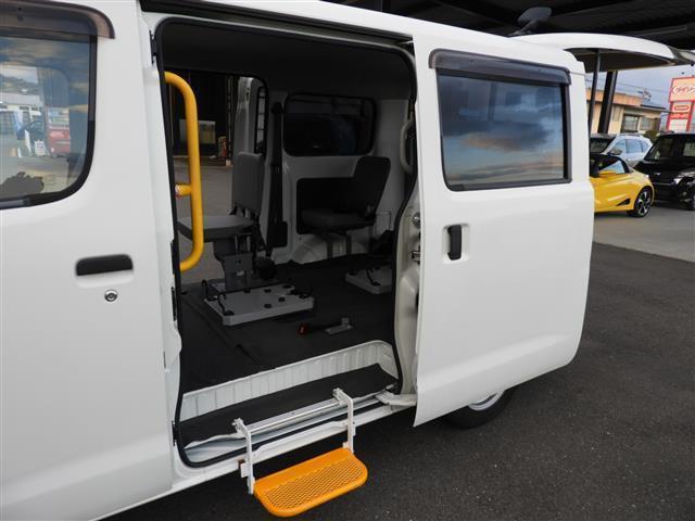 車いす移動車2基積 福祉車両 リアリフト(10枚目)