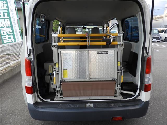 車いす移動車2基積 福祉車両 リアリフト(14枚目)