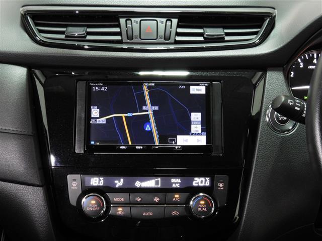 20X ハイブリッド 4WD エマージェンシーブレーキ 社外SDナビ 全周囲カメラ ドラレコ LEDヘッドライト DVD パワーバックドア スマートキー 障害物センサー ETC(18枚目)