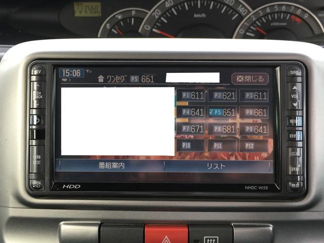 カスタムXリミテッド 電動スライドドア 純正HDDナビTV(6枚目)