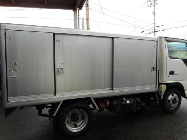 いすゞ エルフトラック 1.5t ボトルカー 全低床 AT 4ナンバー