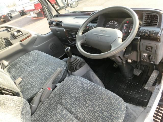 いすゞ エルフトラック 3t積 アルミバン PG