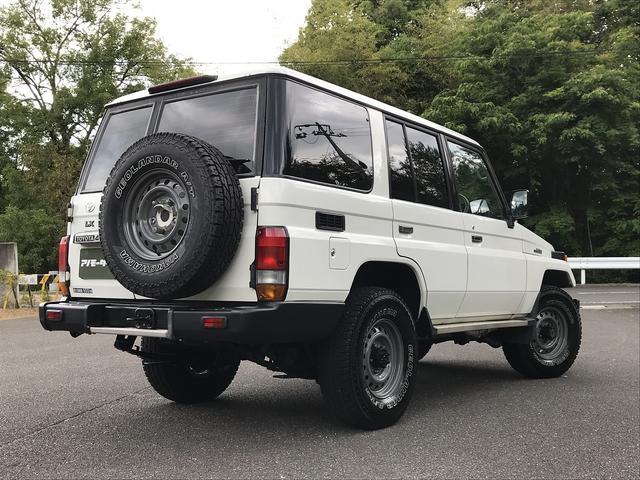 「トヨタ」「ランドクルーザー70」「SUV・クロカン」「香川県」の中古車7