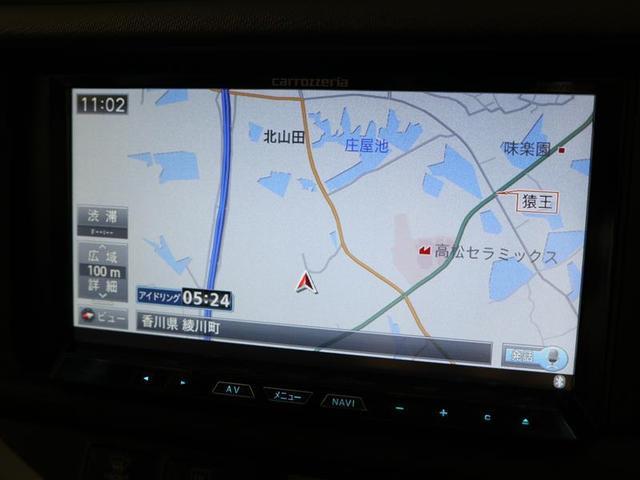 社外HDDナビ フルセグTV搭載。ドライブで活躍します。
