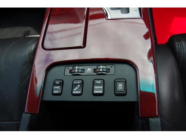 シートエアコン・ヒータースイッチ、各種機能スイッチです。