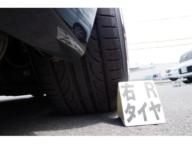 タイヤサイズ255/35R19、タイヤ8分山で、まだまだ使用可能です。