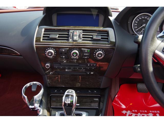 650iカブリオレ 電動オープン コーナーセンサー HID パドルシフト パワーシート 赤革シート シートヒーター 20インチアルミホイール クルーズコントロール オートライト ETC(17枚目)